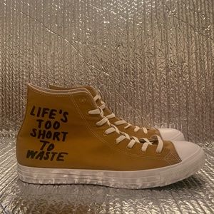 NEW Converse CT Chuck Renew Hightop Life Too Short
